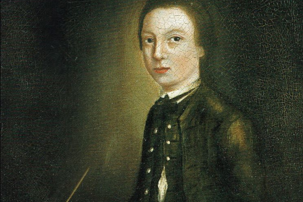 Thomas Gainsborough. A self-portrait of the artist aged 12