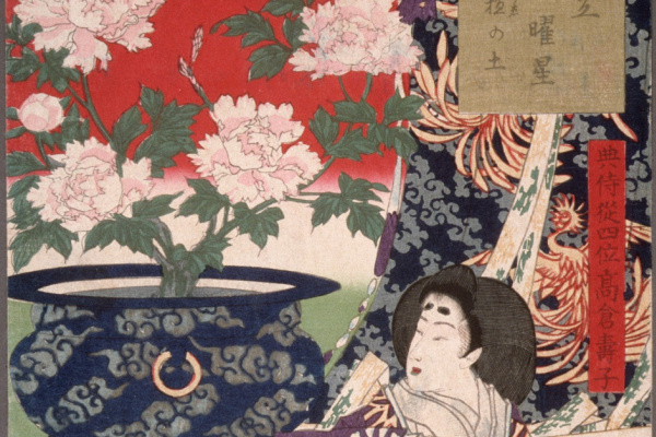 Tsukioka Yoshitoshi. Earth for the Potted Plant