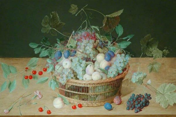 Jakob van Hülsdonk. Fruit basket