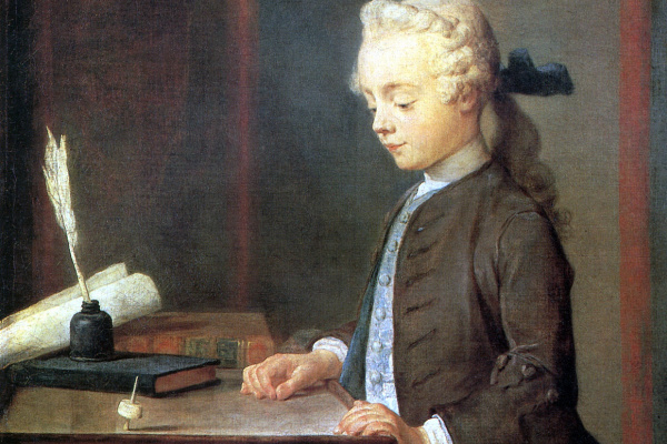 Жан Батист Симеон Шарден. Мальчик с волчком