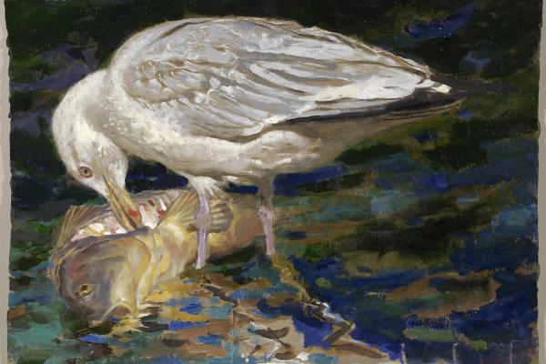Jamie Wyeth. Food