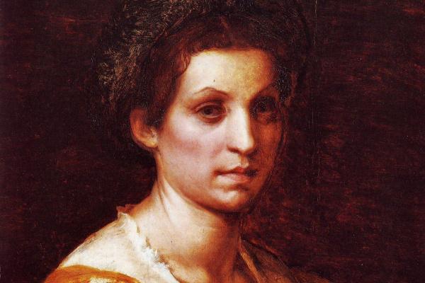 Андреа дель Сарто. Портрет женщины в желтом