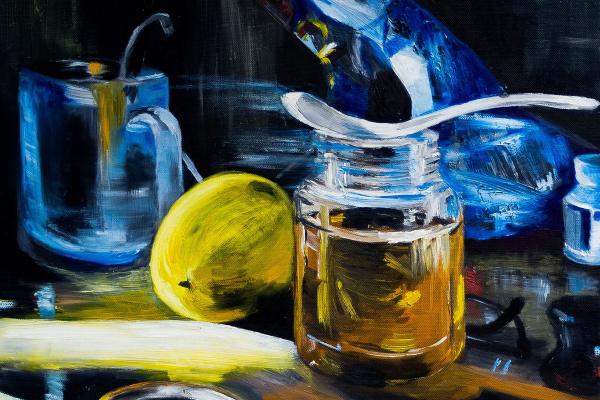 Alena Martyanova. Lemon and honey