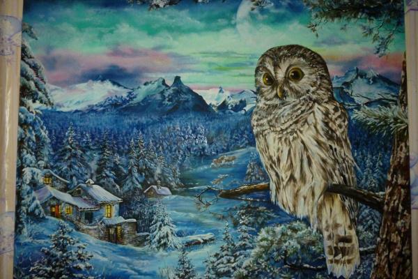 Hope Bogatyreva. Winter under protection