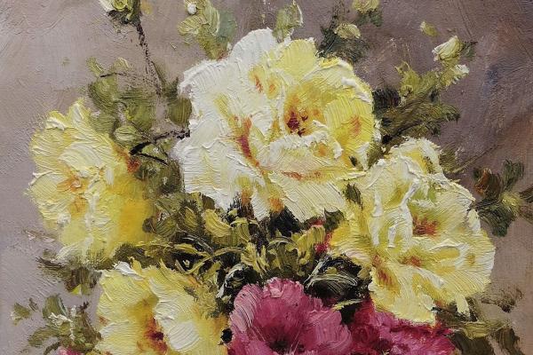 Анджей Влодарчик. Букет садовых роз