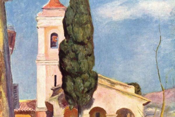 Пьер Огюст Ренуар. Церковь в Кане