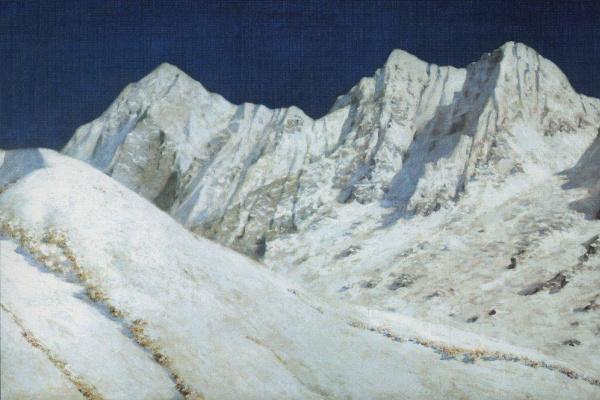 Василий Васильевич Верещагин. В Индии. Снега Гималаев. 1874-1876