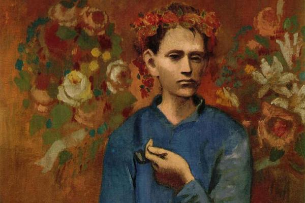 Пабло Пикассо. Мальчик с трубкой