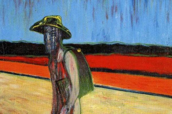 Francis Bacon. Sketch portrait of van Gogh