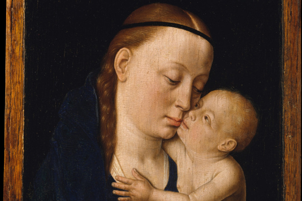 Дирк Баутс. Богородица с младенцем