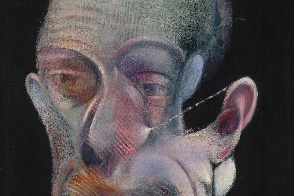 Francis Bacon. Study For Portrait (Michel Leiris)