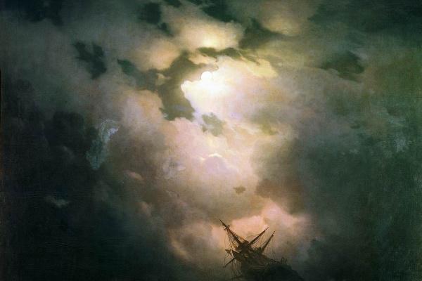 Иван Константинович Айвазовский. Буря на Северном море