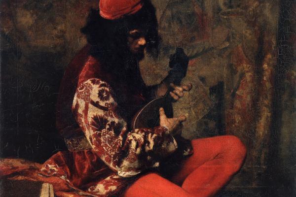 Alexey Alekseevich Kharlamov. Musician-Neapolitan