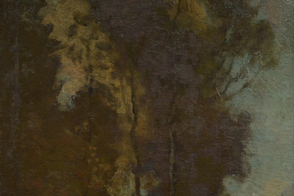 Robert McAuley Stevenson. Forest landscape