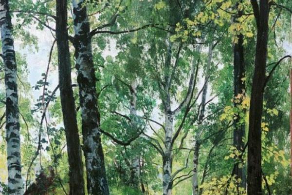Иван Иванович Шишкин. Лиственный лес