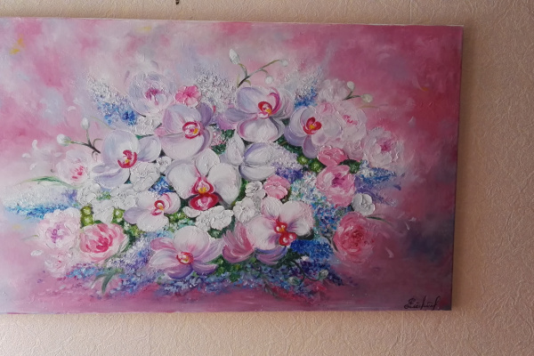 Алина Галкина. Букет орхидей