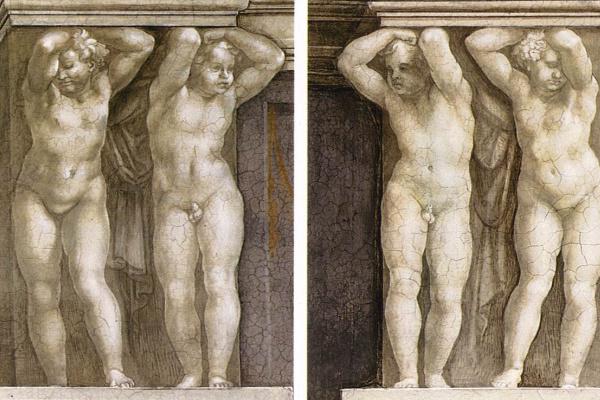 Michelangelo Buonarroti. Putti
