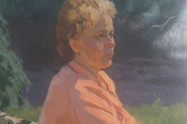 Zemskov. Wife