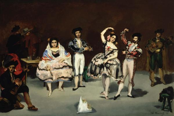 Edouard Manet. Spanish ballet