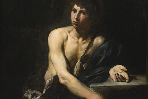Валантен де Булонь. Давид с головой Голиафа