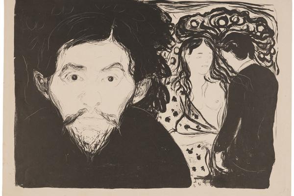 Edvard Munch. Jealousy I