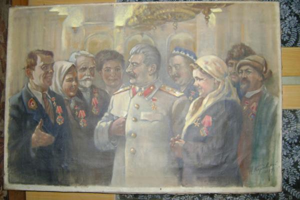 Наум Павлович Карповский. Сталин и колхозники