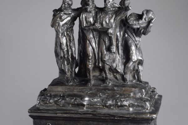 Auguste Rodin. The monument to the burghers of Calais. The first model