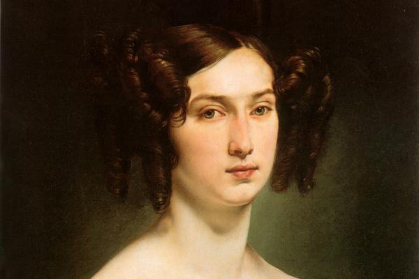 Франческо Айец. Портрет графини