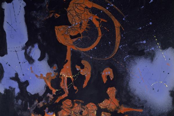 Jackson Pollock. Electric Night