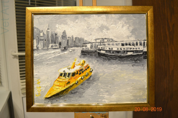 Konstantin Vizgalin. Star Ferry, Hong Kong