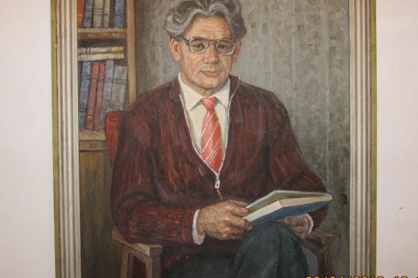 Лазарь Семенович Новицкий. Портрет брата Георгия