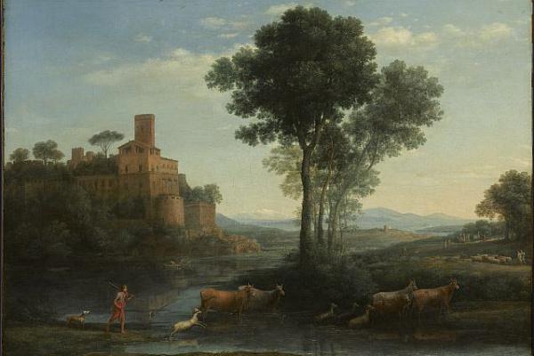 Claude Lorrain. Landscape
