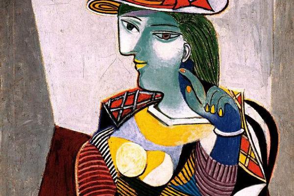 Пабло Пикассо. Портрет Мари-Терез Вальтер