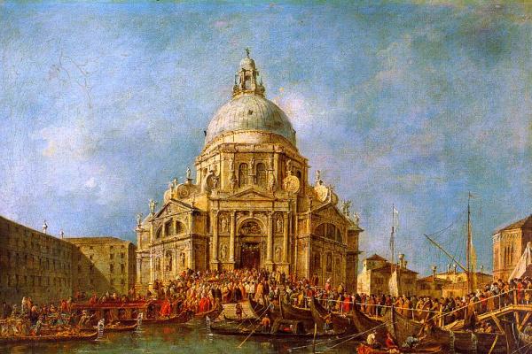Франческо Гварди. Лодки