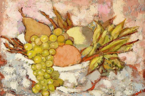 Tamara Lempicka. Fruit in the bowl