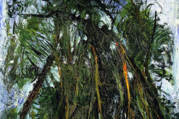 Хаим Соломонович Сутин. Аллея деревьев в Шартре