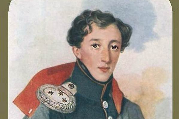 Peter Fedorovich Sokolov. Portrait of an unknown military. 1820