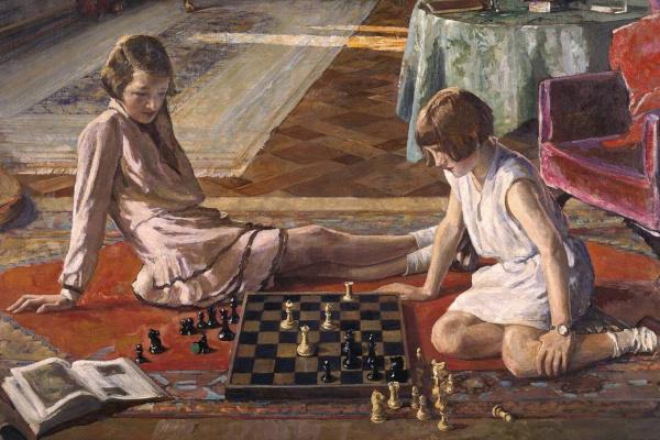 Джон Лавери. Шахматистки