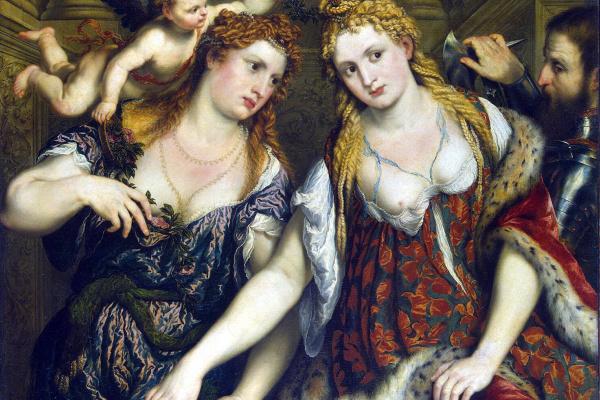Paris Bordon. Flora, Venus, Mars and Cupid