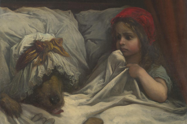 Paul Gustave Dore. Little Red Riding Hood