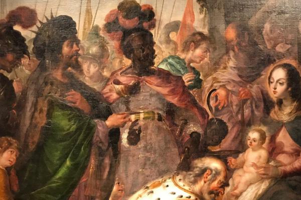 Кристобаль де Виллалпандо. Поклонение волхвов