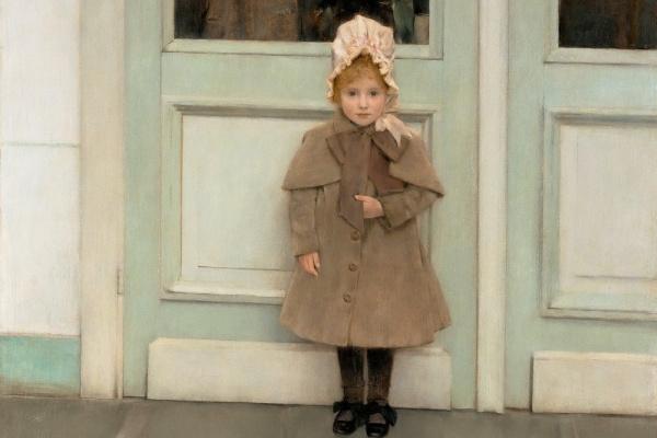Fernand Khnopff. Portrait Of Jeanne Kaefer