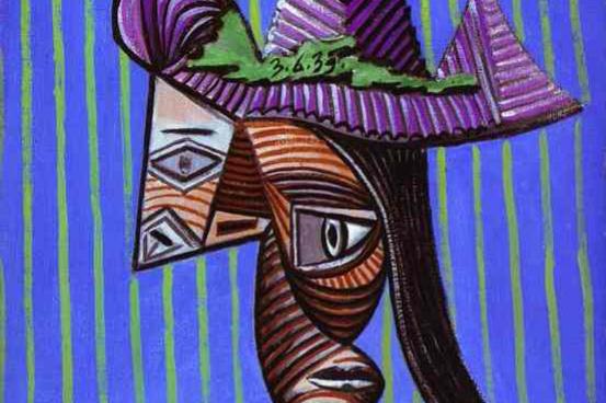 Пабло Пикассо. Раздетая женщина в шляпе