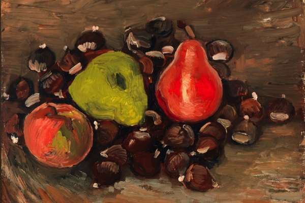 Vincent van Gogh. Still Life with Fruit and Chestnuts