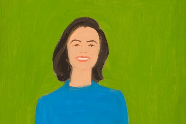 Alex Katz. Portrait Of Ada