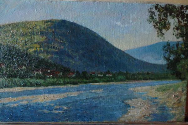 Александр валерьевич петухов. Река Ручная