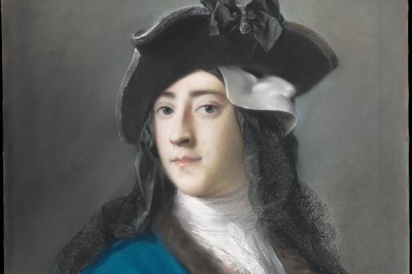 Розальба Каррьера (Каррера). Густав Гамильтон, 2-й виконт Бойн в маскарадном костюме
