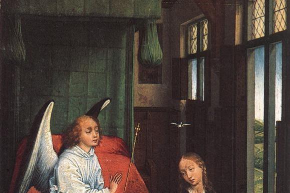 Рогир ван дер Вейден. Благовещение