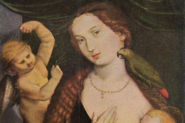 Ханс Бальдунг. Мадонна с попугаем. 1527