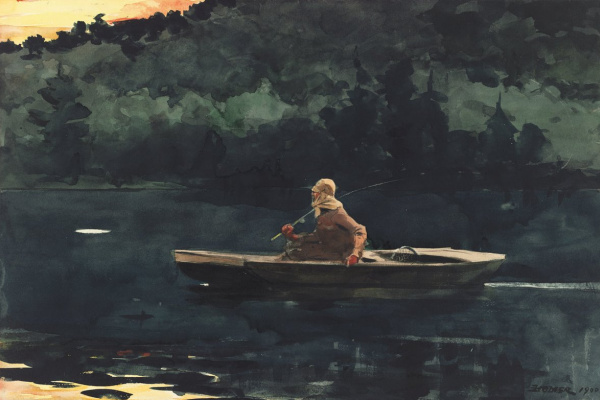 Winslow Homer. Sunrise